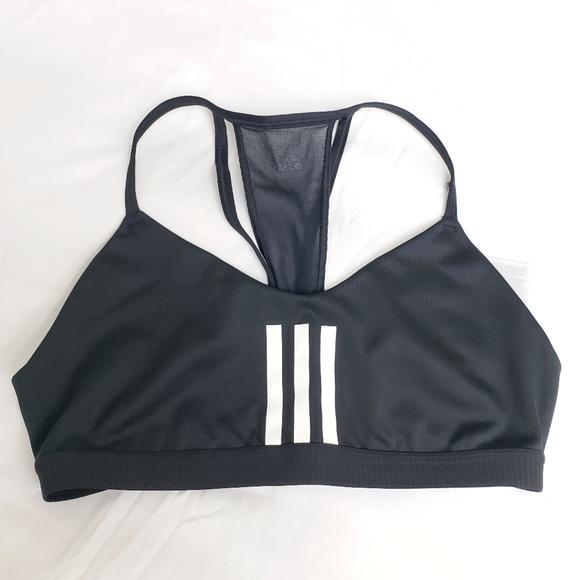 Adidas Women's All Me 3-Stripes Mesh Bra-M|NWOT